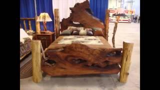 Dormitorio muebles de madera natural