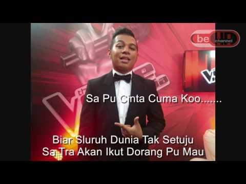 Mario G  Klau Sa Pu Cinta Cuma Ko Cover by Mitha Talahatu Lyrics Mp3