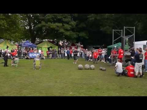 Yorkshire's Strongest Man u105kg 2015 - Ian Phillips - Carry Medley