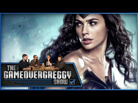 Suicide Squad and Wonder Woman Trailer Reactions - The GameOverGreggy Show Ep. 112 (Pt. 1)