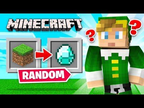 Minecraft But EVERYTHING Is *RANDOM*