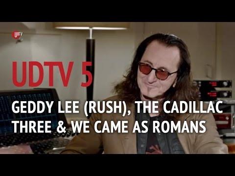 Geddy Lee (Rush) talks to Kylie Olsson, We Came As Romans, live at Abbey Road Studios, London