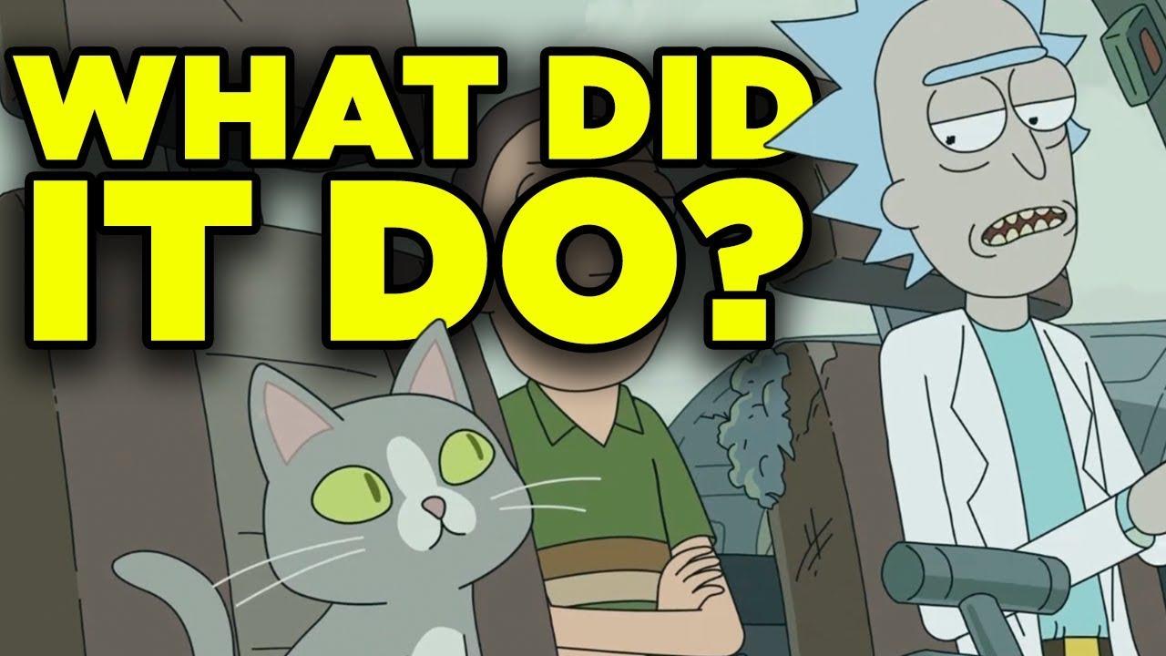 Download Rick and Morty 4x04 SECRET CAT ORIGIN Revealed! | Ricksplained