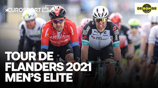 Tour Of Flanders 2021 | Elite Men - Highlights | Cycling | Eurosport