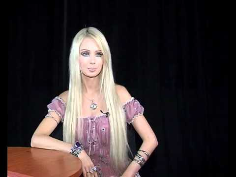 Amatue 21 Valeria Lukyanova interviews, high-pitched voice