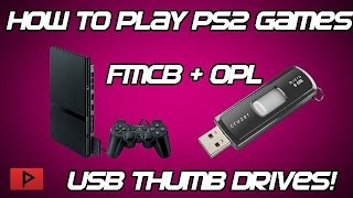 [How To] Play PS2 Games Off Of USB Flash Thumb Drive (No Hard Drives!)