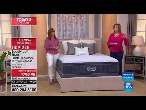 HSN | Beautyrest Mattresses / Concierge Collection Bedding 0