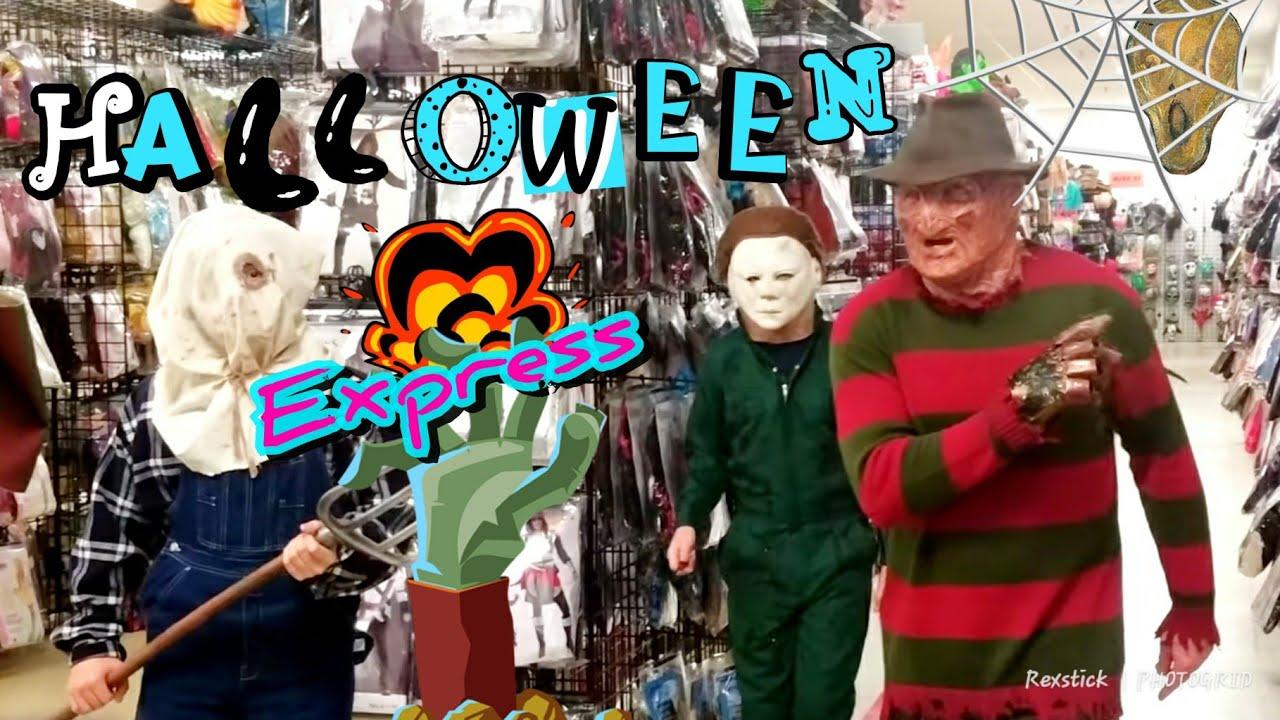 👻,halloween express, costume corner, 😨, halloween express - youtube
