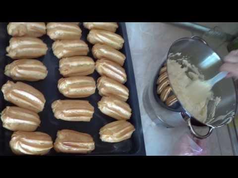 Заварное пирожное Эклер