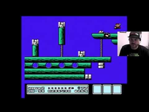 Super Mario Bros. 3 - World 2-5 - 3-4   VGHI Play 'n' Chat Live Stream