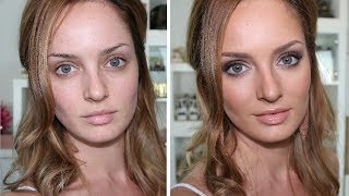 Simple Mauve Smokey Eye: Prom/Formal Makeup Tutorial