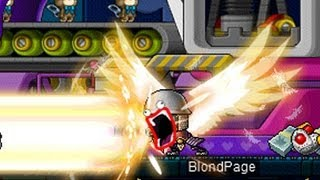 MapleStory Mihile Warrior of Light Training and Skill Build