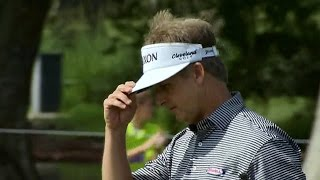 David Toms sneaks in a birdie from off the green at Zurich