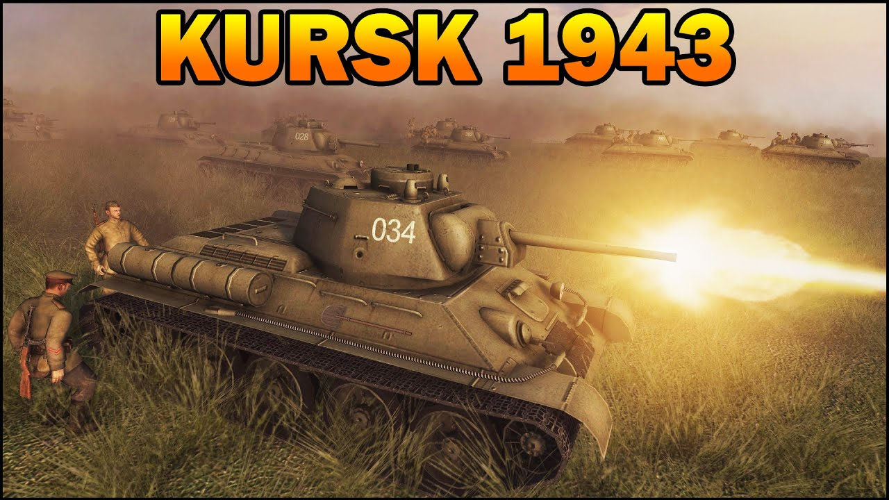 [HISTORICAL] BIGGEST TANK BATTLE - THE BATTLE OF KURSK - 1943 - Men of War Assault Squad 2 - #66 - YouTube