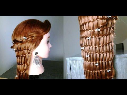 penteado princesa medieval
