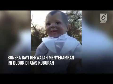 Boneka Bayi Seram Di Atas Kuburan Youtube