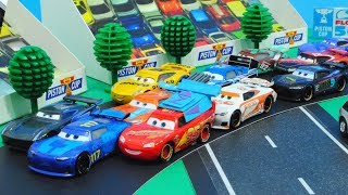 Cars 3 : McQueen And Next-Gen Racers Piston Cup Race! (Part 1) - StopMotion