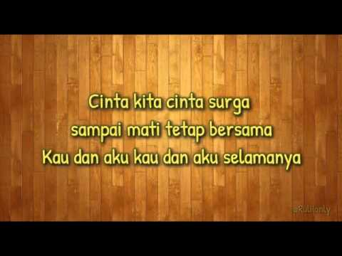 CINTA SURGA LIRIK   Rassya Feat Aurel Hermansyah