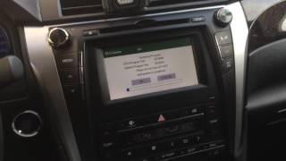 Новое Обновление ПО для Toyota Camry октябрь 2016 (версия GE3934),Update for Toyota Camry 2015-2016