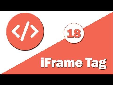 18 - ( HTML Tutorial ) Iframe Tag --- شرح تاج الايفريم