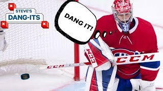 NHL Worst Plays of The Year - Day 5: Montreal Canadiens Edition | Steve's Dang Its