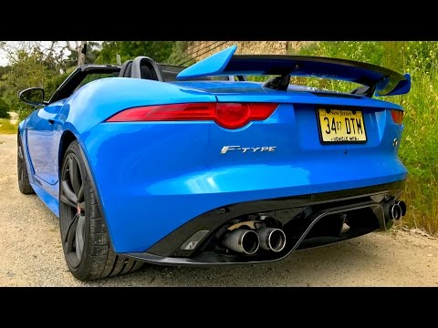 Jaguar F-Type SVR - The Most Exciting Car I