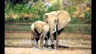 そ?うさん 童謡 歌詞入り ELEPHANT