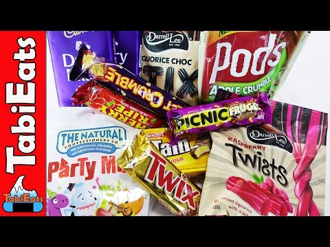 Japanese Try Australian Candy