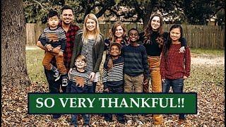 HUGE FAMILY THANKSGIVING 2018!