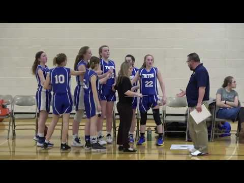 Triton At Argos - 8th Grade Girls Basketball Season Finale 🏀 3-12-2020