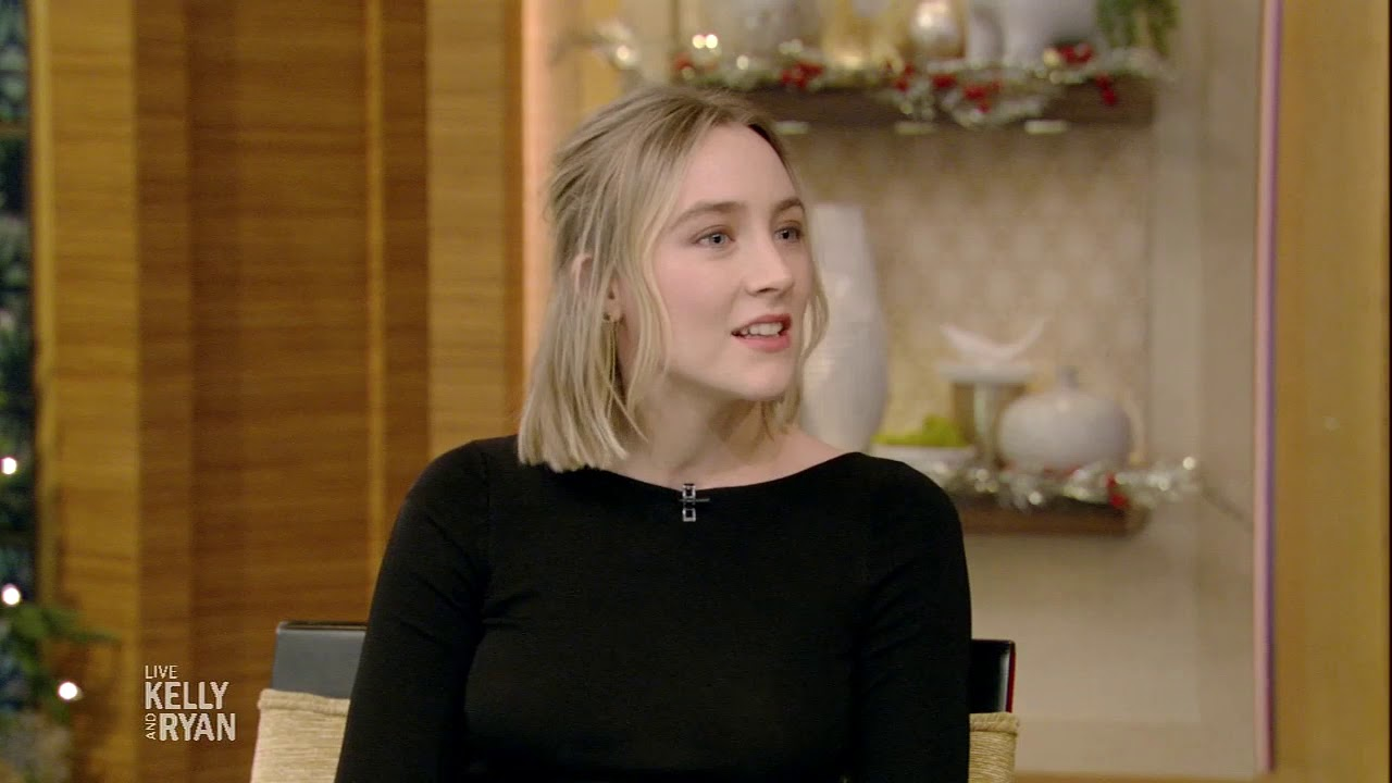Allie Byrne Nude saoirse ronan's goose is cookedon christmas!