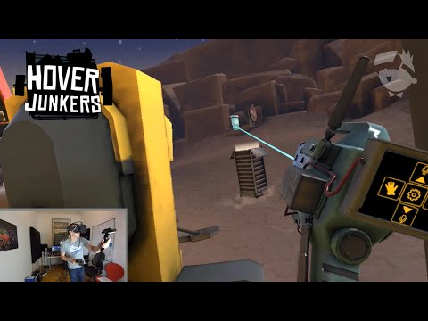 Hover Junkers HTC Vive Multiplayer (Dis/connected)