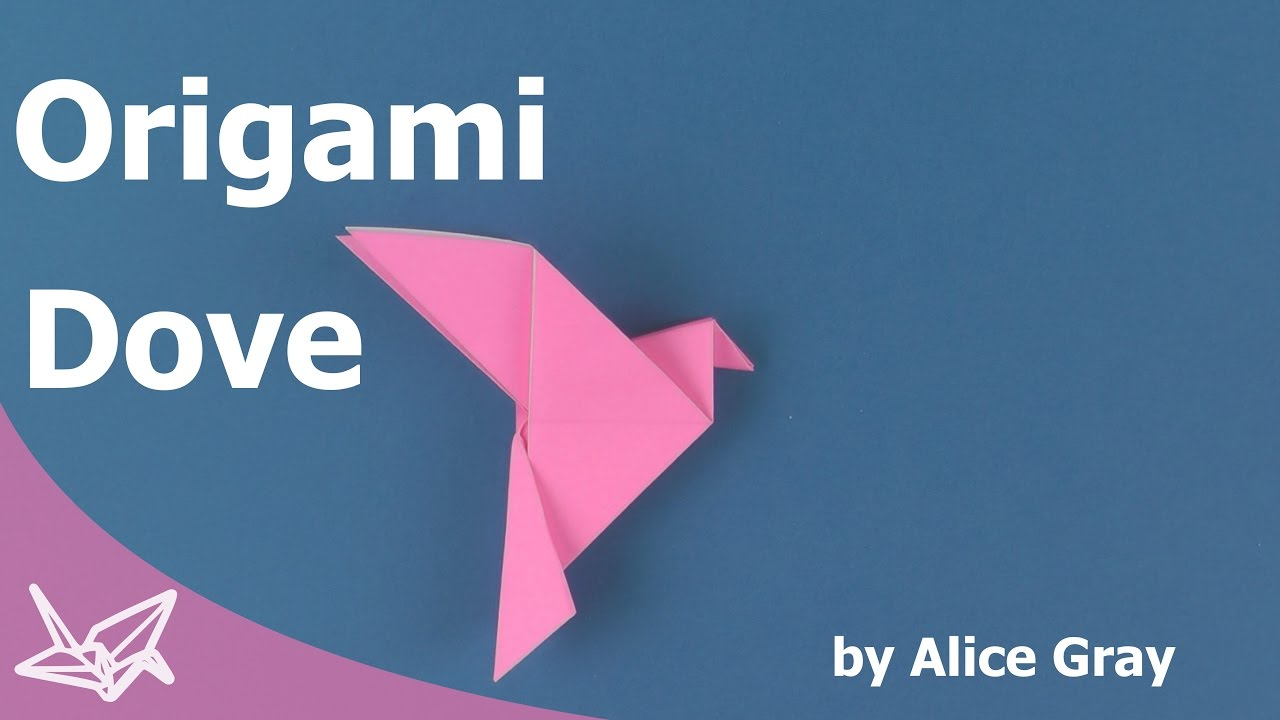 origami peace dove instructions