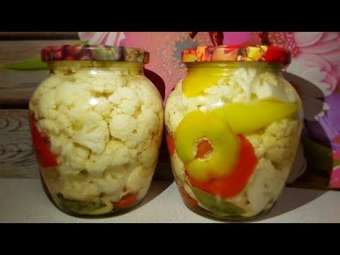 Как закупорить цветную капусту на зиму