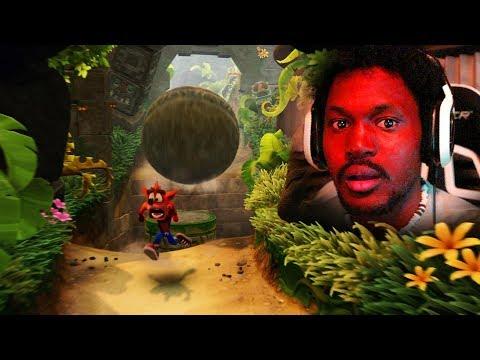 I'VE NEVER PLAYED A CRASH GAME... [RAGE] | Crash Bandicoot: N-Sane Trilogy