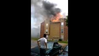 Fire at Eagle Crest Apartment Irving TX