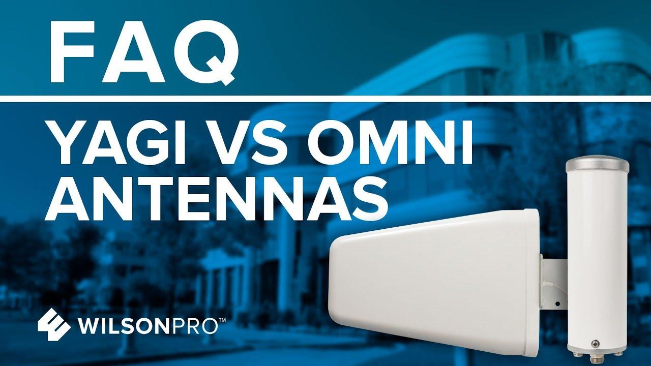 Yagi vs Omni Antennas What's The Difference?   WilsonPro
