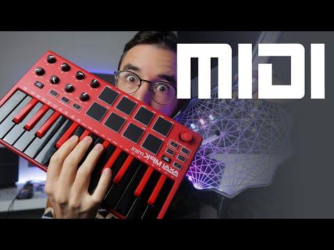 O que são MIDI e CONTROLADORES MIDI?