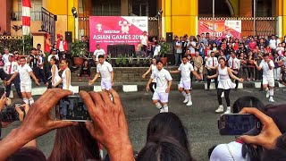 DANCE IN PUBLIC INDONESIA MERAIH BINTANG VIA VALLEN - OFFICIAL THEME SONG ASIAN GAMES 2018