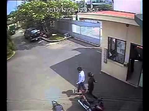 Trộm xe SH giữa ban ngày tại Công ty Hoàng Hạc 28-12-2012