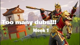 Week 1 recap- Too many dubs?