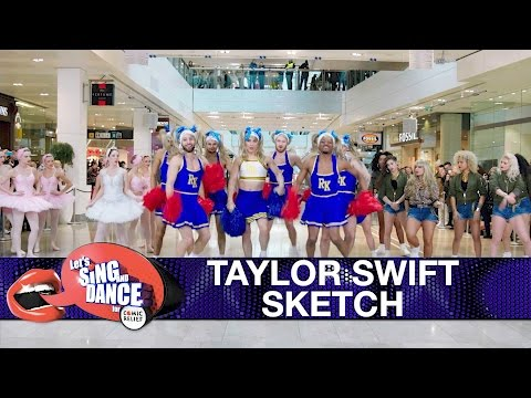 Taylor Swift 'Shake It Off' sketch - Let's Sing...