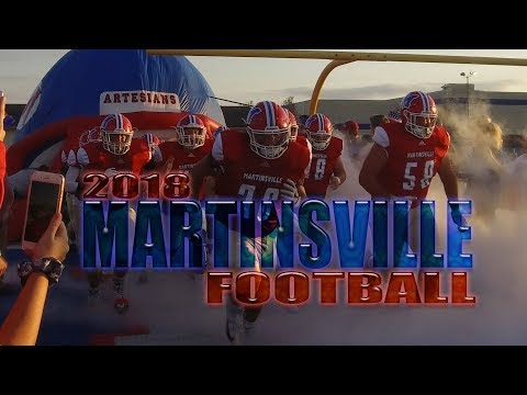 2018 Martinsville Artesian Football Highlights