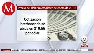 Precio del dólar hoy miércoles 2 de enero de 2019
