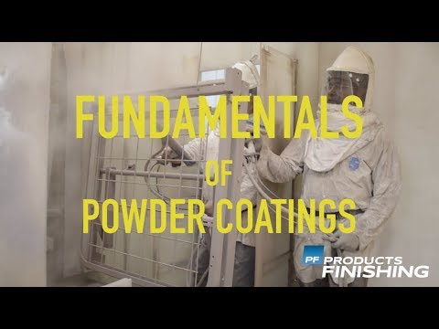The Powder Coating Process | Products Finishing