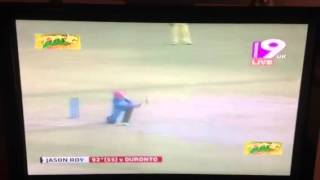 Jason Roy man of the match and most sixes at BPL 2013
