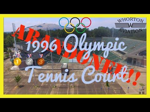 Abandoned Atlanta 1996 Olympic tennis Courts