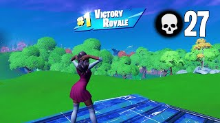 High Elimination Solo vs Squads Win Gameplay Full Game (Fortnite PC Keyboard)