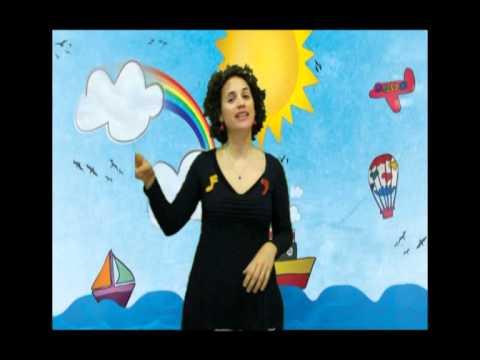 """Canción infantil en LSE """"Colores"""""""