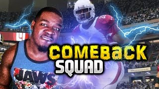 Comeback squad look at this dude madden 17 ultimate team !!! madden nfl 17 draft champions